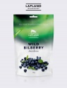 lapland wildfood wild bilberry - dried berries - product's photo