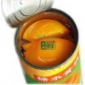 white /red/yellow peach canned - product's photo