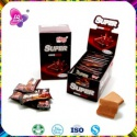 hot sell chocolate chewy candy with chocolate prices - product's photo