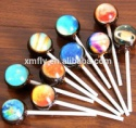 3d universe design planet big lollipop candy - product's photo
