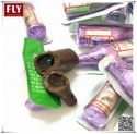 bottle shaped vodka filling chocolate liqueur candy - product's photo