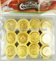 3 in 1 golden chocolate coin - product's photo