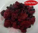 canned mixed berries in syrup in 415g tins - product's photo