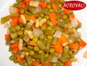canned mixed vegetables legumes in 425g tins - product's photo