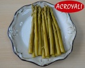 green asparagus in 370ml glass jars - product's photo