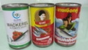 canned sardines/mackerel - product's photo