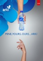 arki bottled mineral water - product's photo
