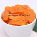 healthy snack fruits freeze dried yellow peach dried - product's photo