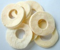 supply 100% natural bulk freeze dried(fd) apple ring - product's photo