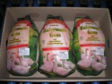 frozen turkey thigh meat, skinless, boneless - product's photo