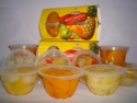 hot sale canned fruit salad in plastic cups - product's photo