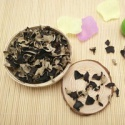 dried white back black fungus mushroom dice - product's photo