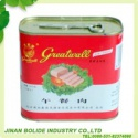 halal canned pork luncheon meat - product's photo