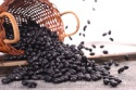 organic vegetable seeds like black kidney beans - product's photo